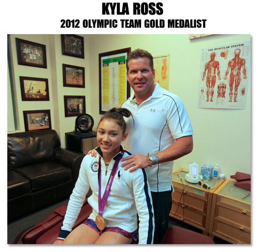 McKayla Maroney - 2011 World Vault Champion and patient of Dr. David Armstrong